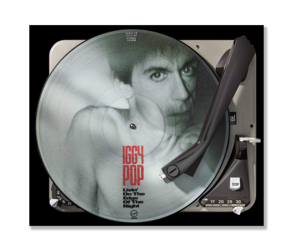 Vinylography No. 17 Iggy Pop Livin on the edge of the night on Dual