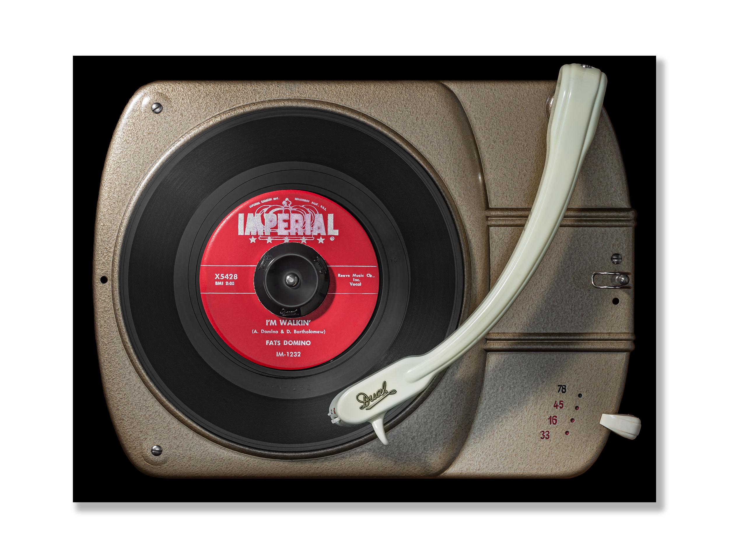Vinylography No. 18 Fats Domino I'm walkin' on Dual