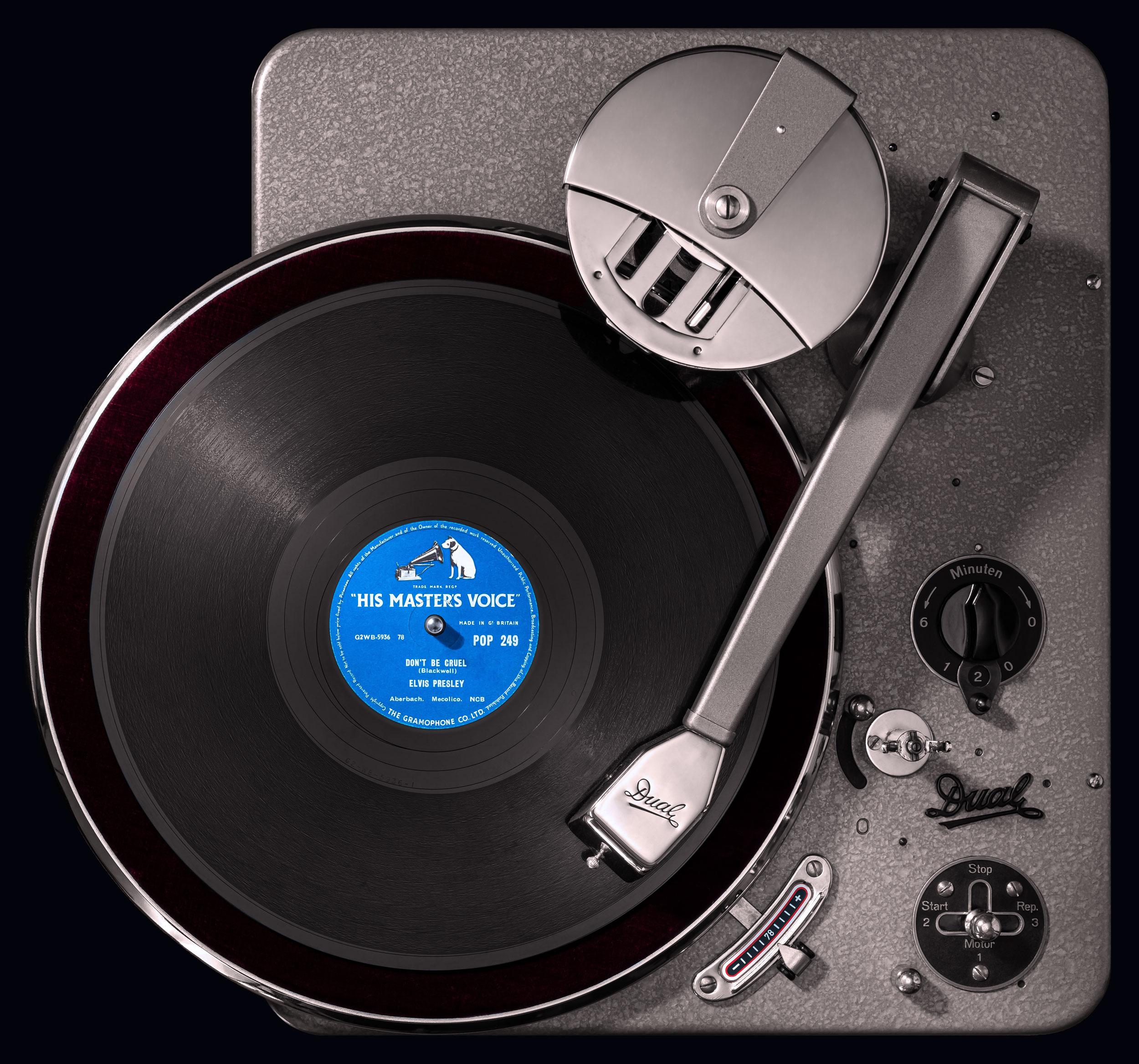 Vinylography No. 9 Elvis Presley Don't Be Cruel on Dual 1001