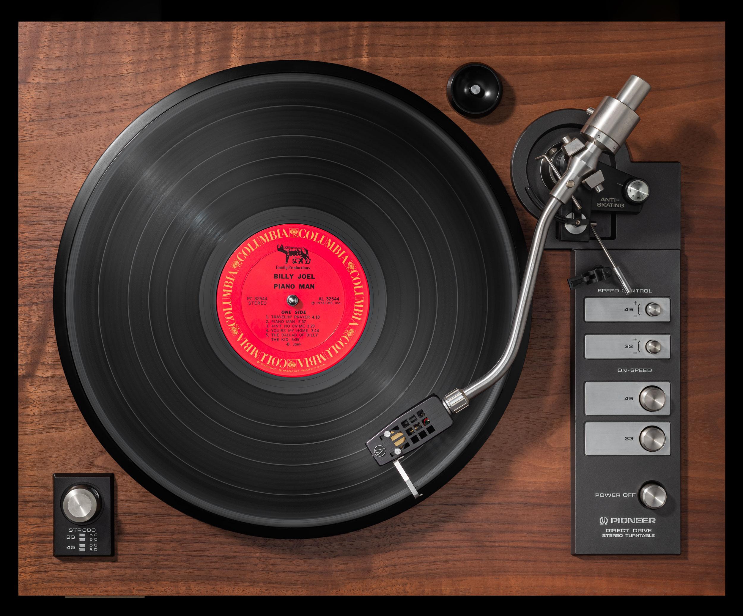 Vinylography No. 4 Billy Joel Piano Man on Pioneer PL 71