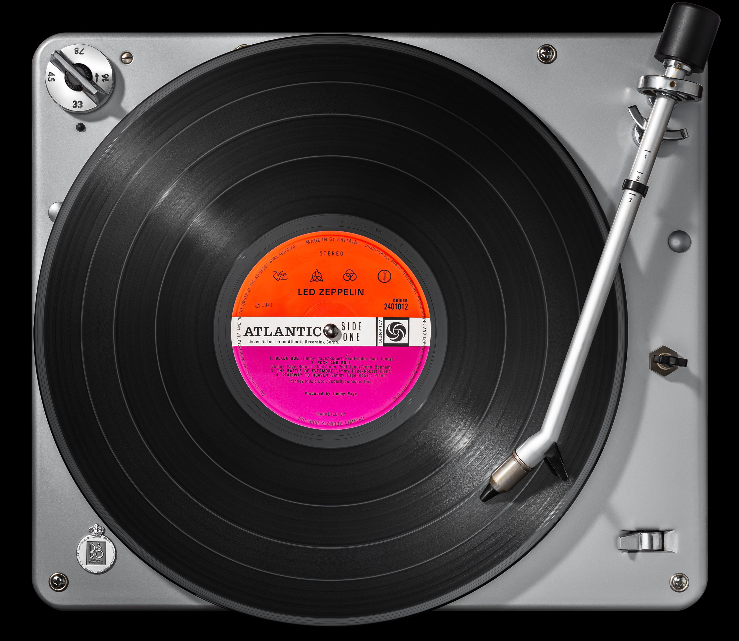 Vinylography No. 30 Led Zeppelin IV on Beogram 1000