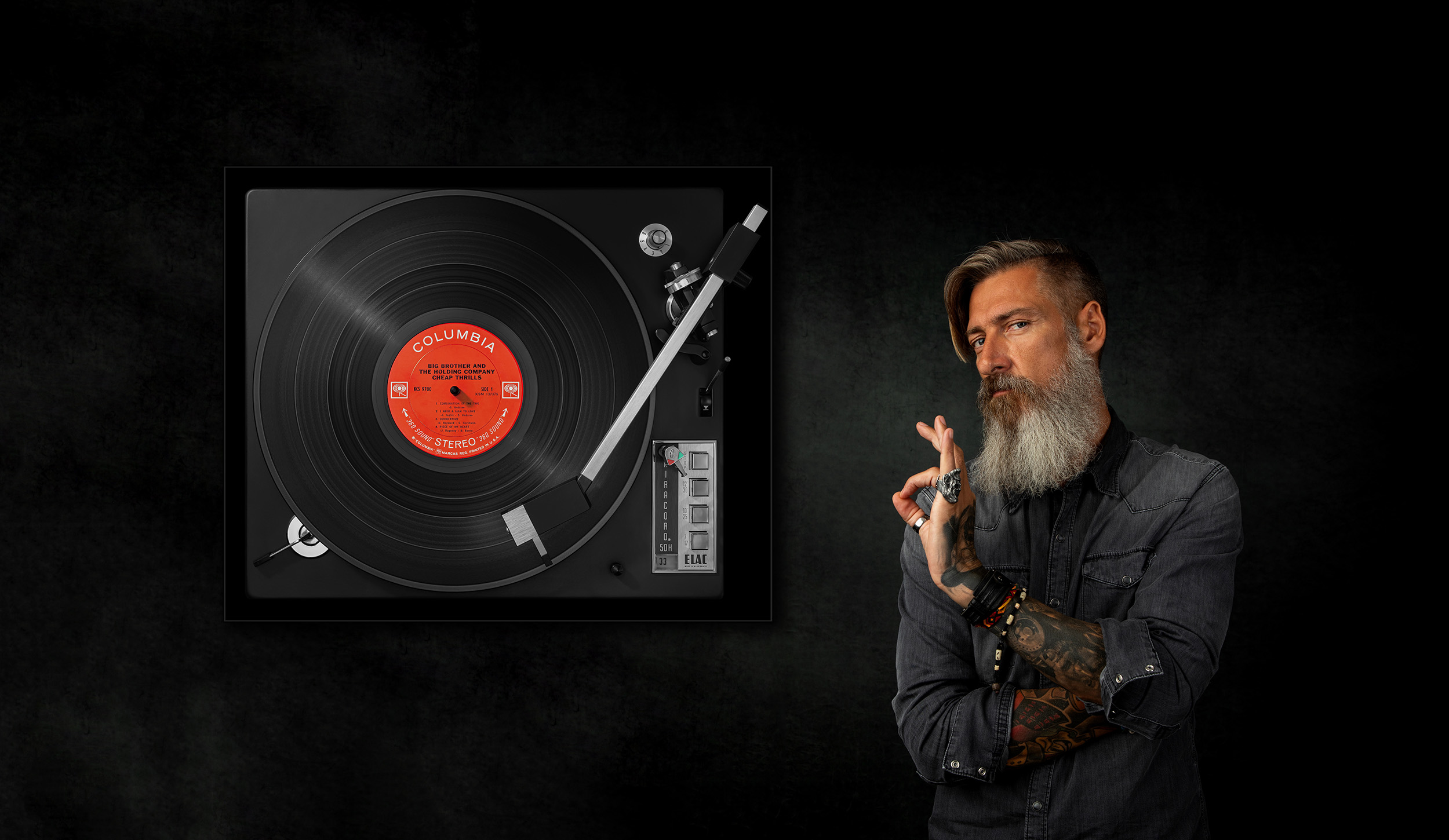 Vinylography by Gerd Schaller