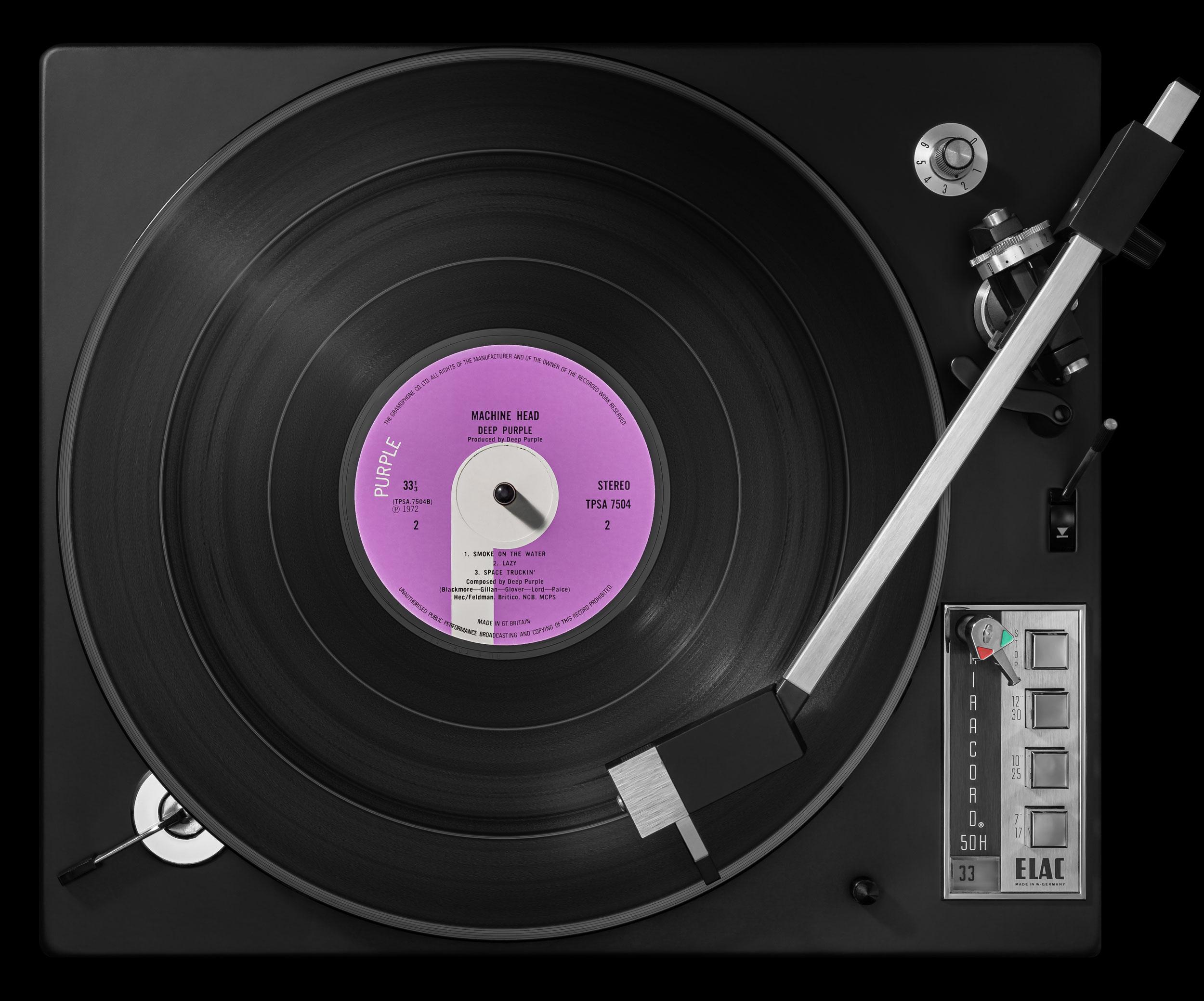 Vinylography No. 22 Deep Purple Machine Head on ELAC Miracord