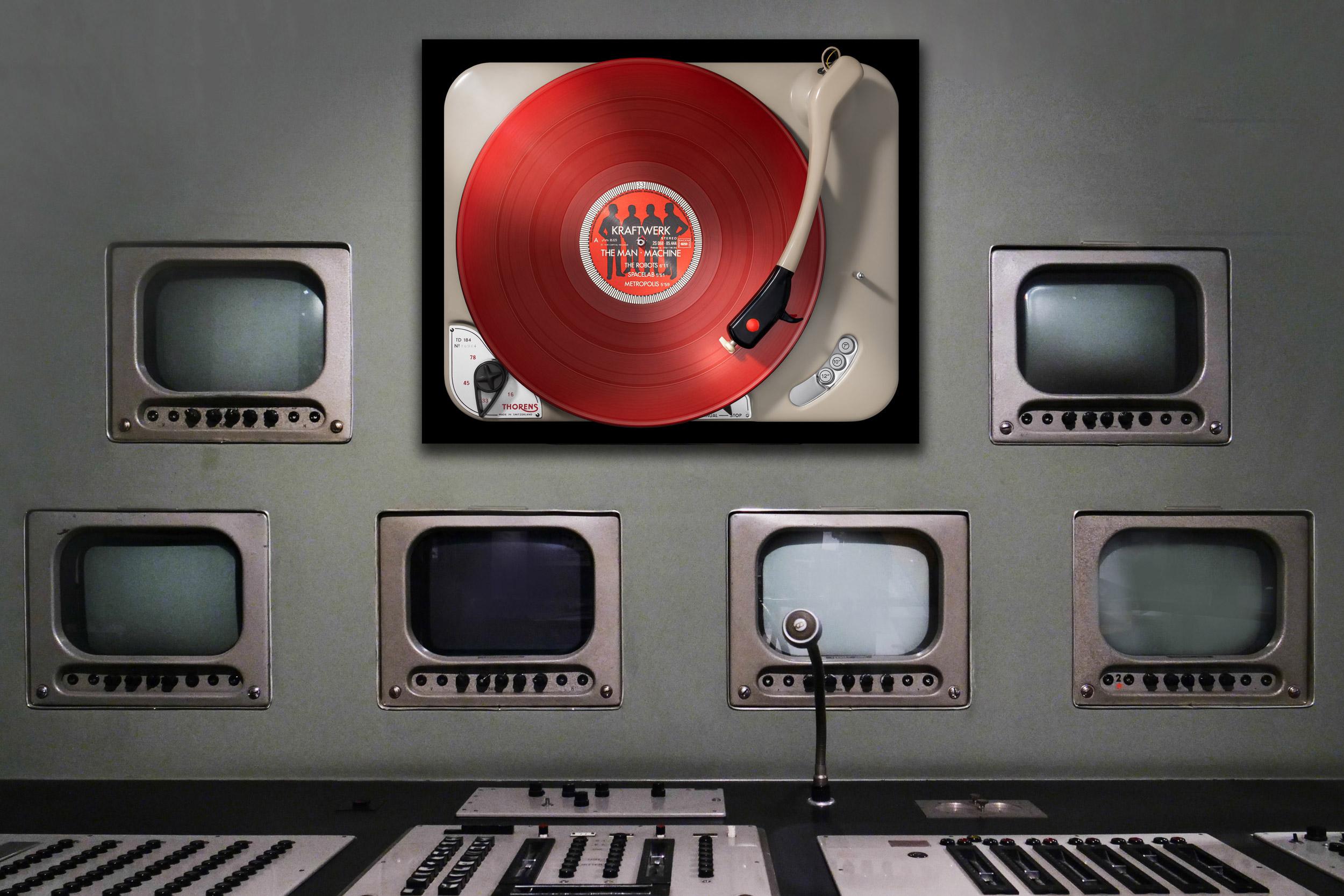 Vinylography No. 84 Kraftwerk The Man Machine on Thorens TD 184